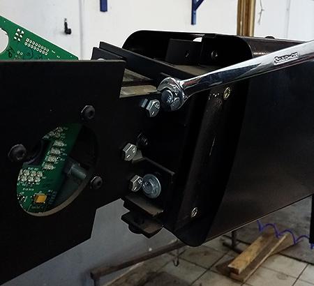 Нацеливание камер стенда HS200LZ